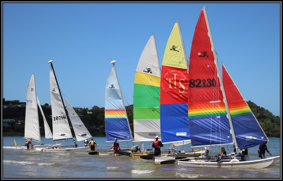 Mercury Bay Boating Club – Double Trouble Multi Hull Regatta