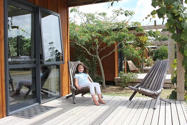 Hot water beach villa
