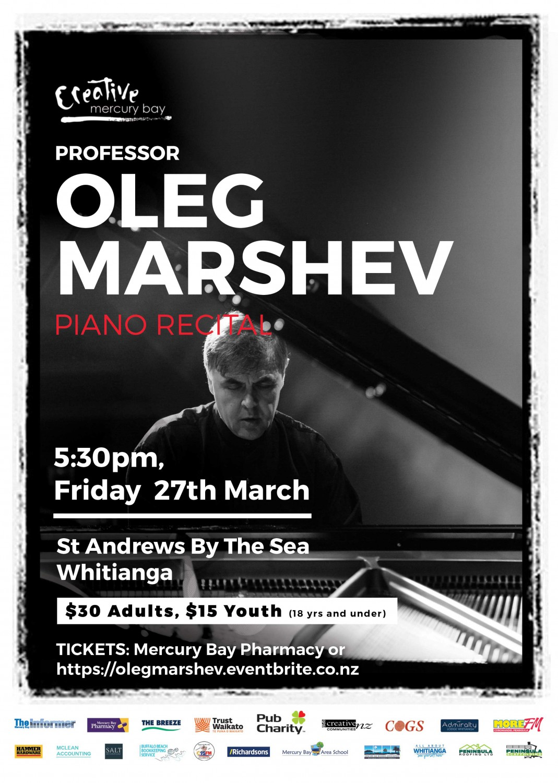Oleg Marshev - Chopin and Scriabin