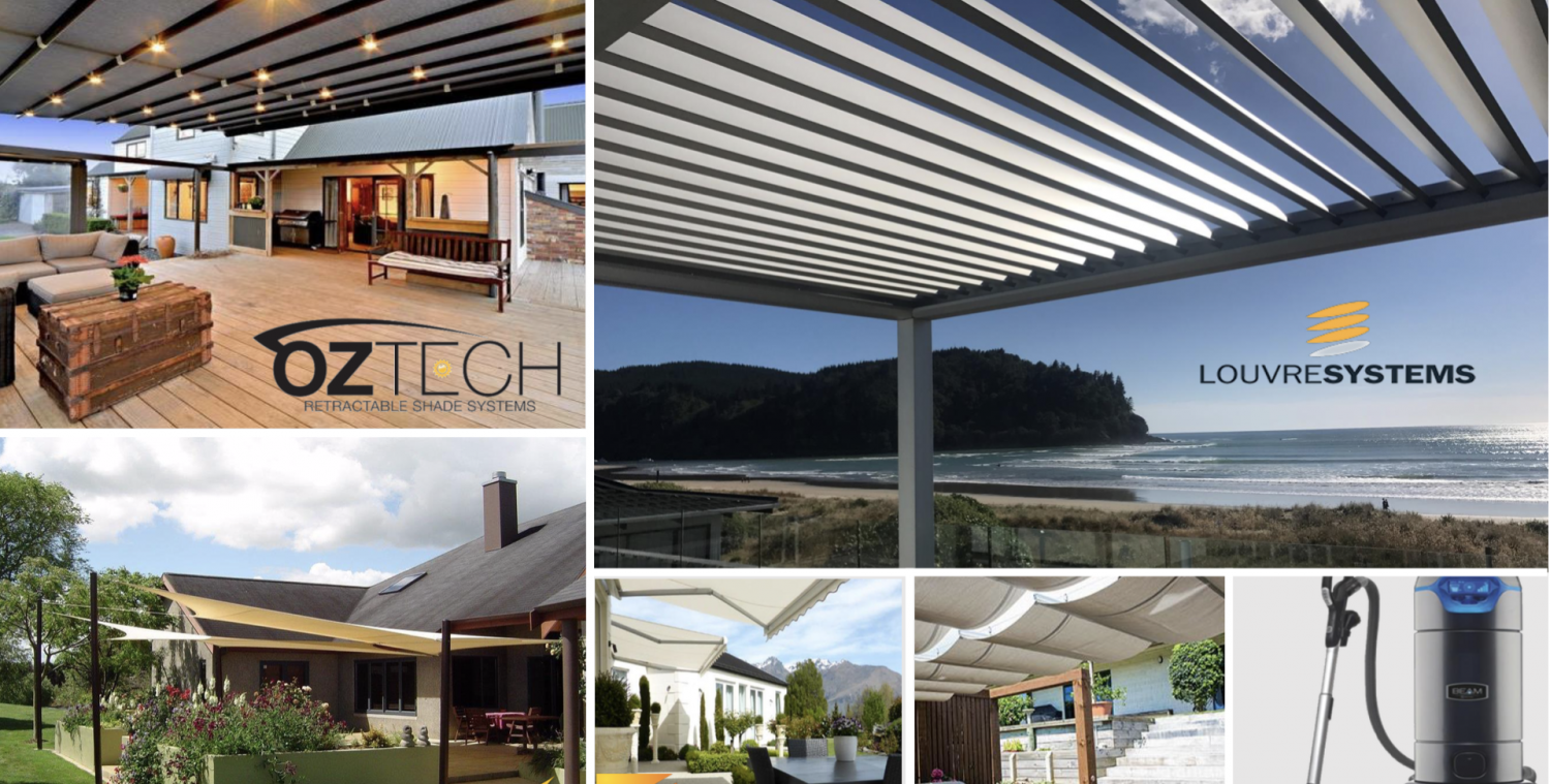 Covered - Louvres, sails and awnings Whitianga Coromandel Peninsula Louvre systems