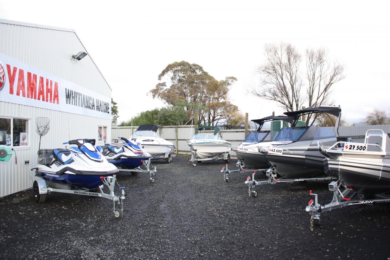 Boats in yard