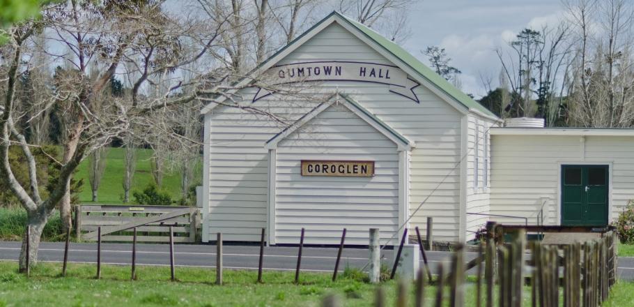 Coroglen Hall Gumtown Hall near Whitianga
