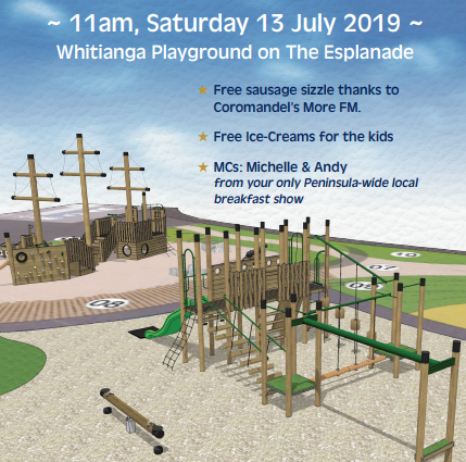 Official Opening - Whitianga Playground on The Esplanade