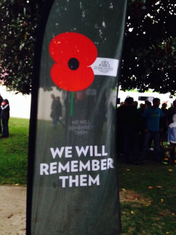 ANZAC day dawn service Whitianga Soldiers Memorial Reserve