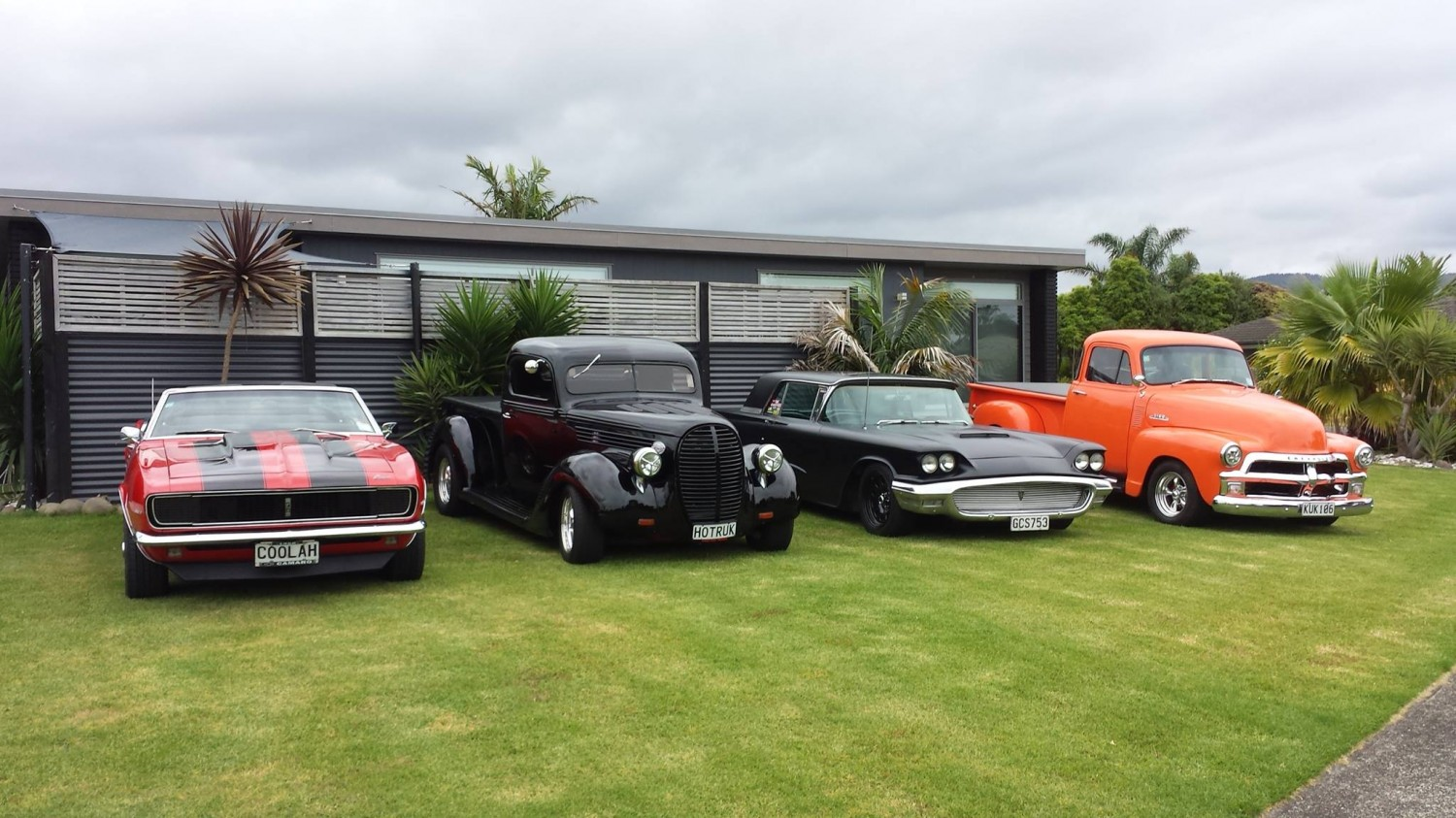 American Muscle Car Meeting - Classic Cars Whitianga