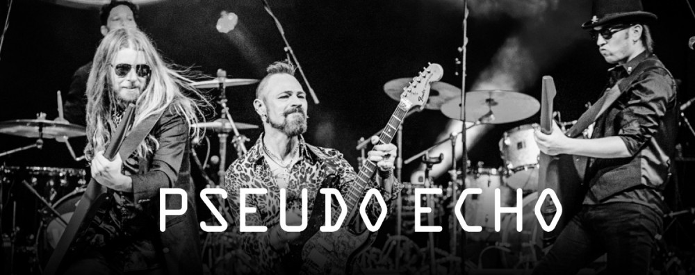Pseudo Echo promotional poster Whitianga Summer Concert Greenstone Entertainment