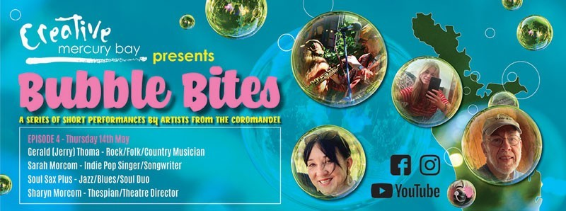 Creative Mercury Bay Bubble Bites Episode 1 banner