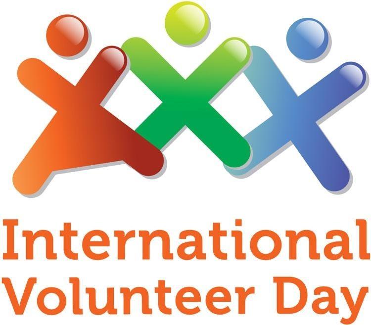 International Volunteer Day banner