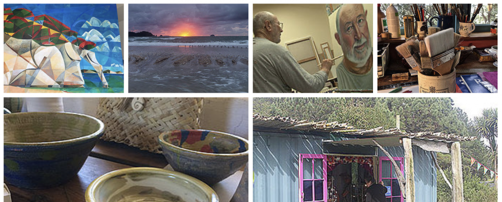 Mercury Bay Art Escape Kuaotunu, Rings Beach & Opito Bay Artists Open Studios