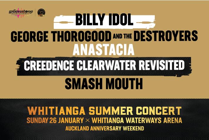 Whitianga Summer Concert 2020 banner