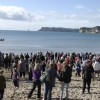 spectators polar swim challenge