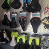 Bike seats and bike saddles at the Bike Man Shop Whitianga