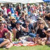 Fun crowd at A Taste of Matarangi Food and Wine Festival