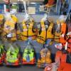 Life jackets at Longshore Marine Whitianga