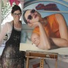 """Ingrid Book """"En Vouge"""" exhibition at Bread and Butter Gallery Whitianga"""