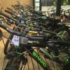 Bikes at the Bike Man Shop Whitianga