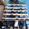 Power belts display stand