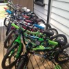 Kids bike range at the Bike Man Shop Whitianga