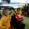 Sandie and Gary Hinds Hot Water Beach Surf life saving near whitianga