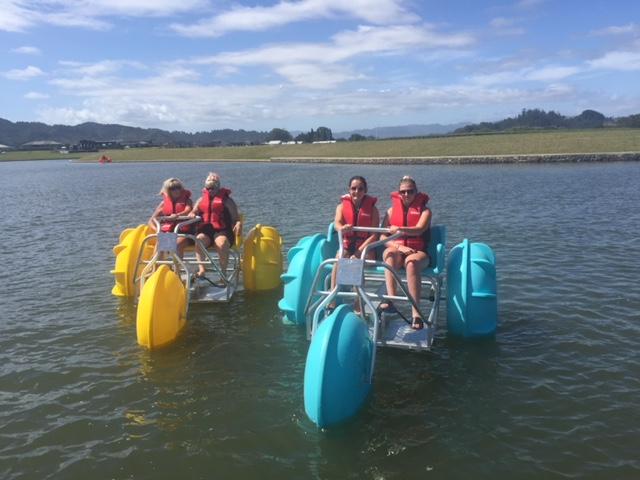 Whitianga Water Bikes family fun
