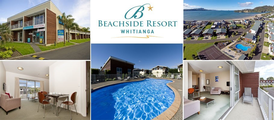 Beachside Resort Whitianga 2017 banner