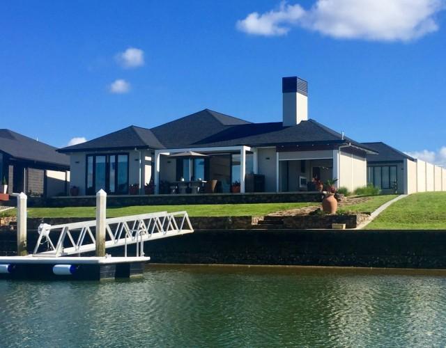 House on waterways