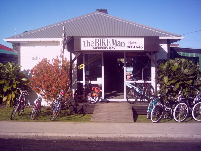 The Bike Man Bike shop Whitianga