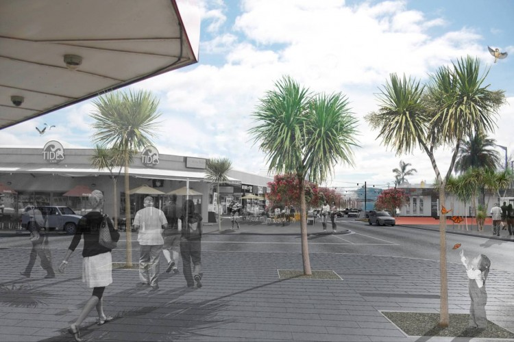 Whitianga town centre upgrade