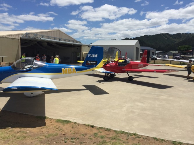Vans RV 12 Mercury Bay Aeroclub