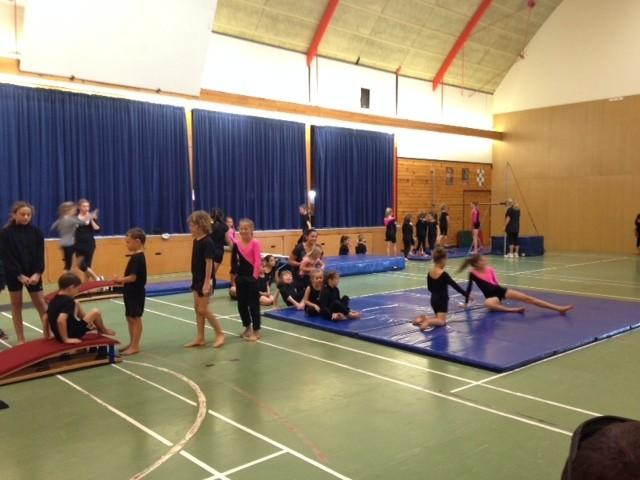 Gymnastics demonstration