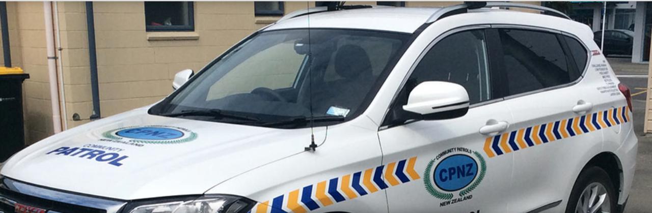 Community Patrol Car
