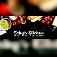 Saby's Kitchen logo
