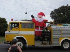 Santa Parade Matarangi Beach Coromandel Peninsula