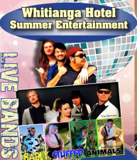 Whitianga Hotel Summer Entertainment