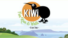 Kiwi Fun Run & Walk logo