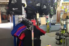 Dive equipment and dive refills at Whitianga Sports centre