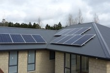 Good Energy Whitianga solar panels on roof top