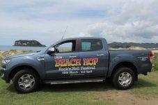 Beach Hop promo vehicle