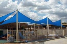 Commercial Shade Sail over Early Childhood Centre by Peninsula Gates and Fences