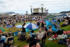Whitianga Summer Concert venue for 2020 - picture taken at the 2019 Whitianga concert