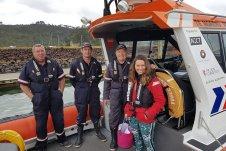 Whitianga Volunteer Coastguard volunteers