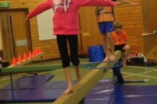 Mercury Bay Gymnastics Club Whitianga walking beam