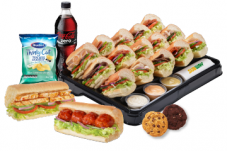 Wraps and Platters catering and take out order Subway Whitianga