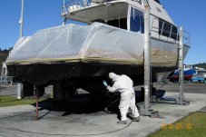 Boat insurance inspection and maintenance at H&M Pascoe Whitianga