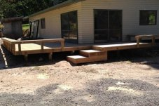 House decking Brow Projects Whitianga