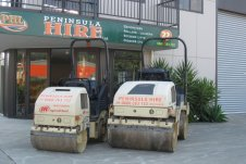 Rollers for compaction Peninsula Hire Whitianga