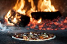 Woodfire Pizzas from Luke's Kitchen