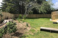 Peanuts Childcare Whitianga outdoor play area