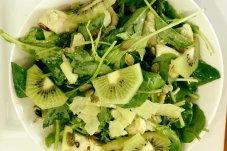 Pesto chicken salad Nina's cafe whitianga