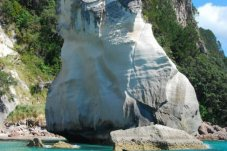 Te Horo at entrance to Cathedral Cove